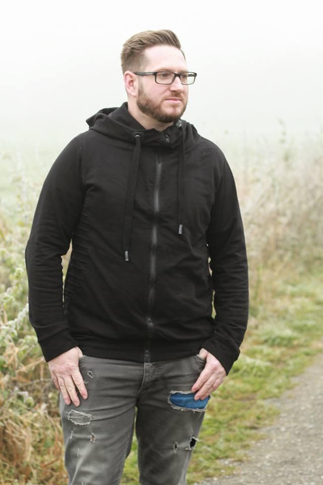 Sweatjacke/Hoodie Nanuk Nähanleitung Schnittmuster Herren