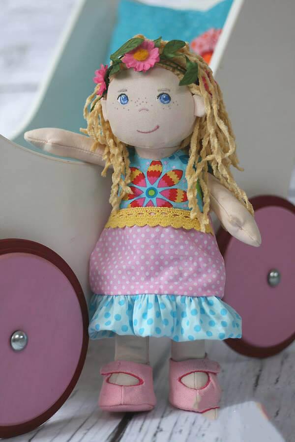 Puppenballonkleid Neela