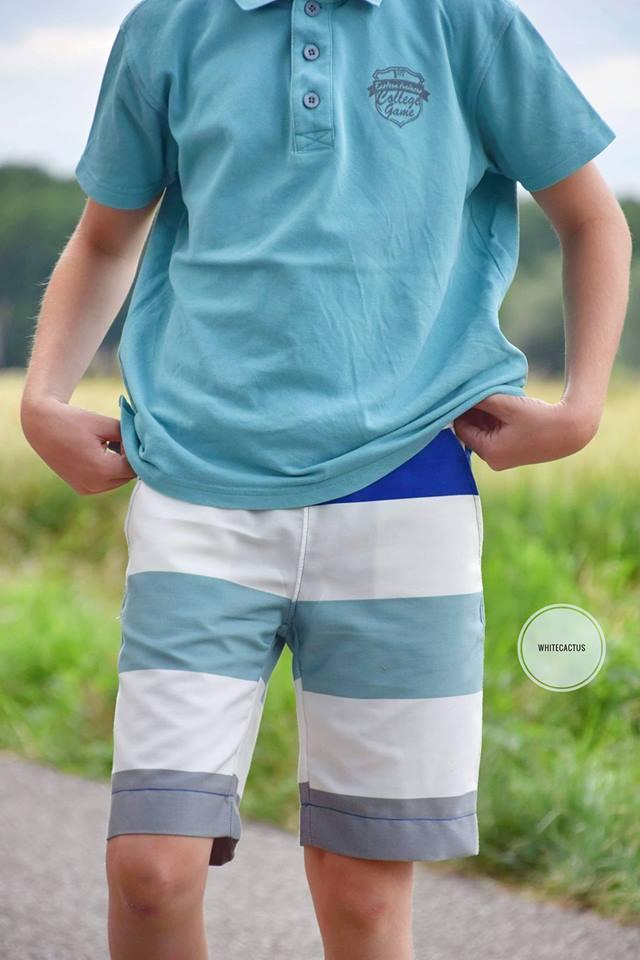 Suri Shorts kurze Hose - Kinder - Nähanleitung - Schnittmuster
