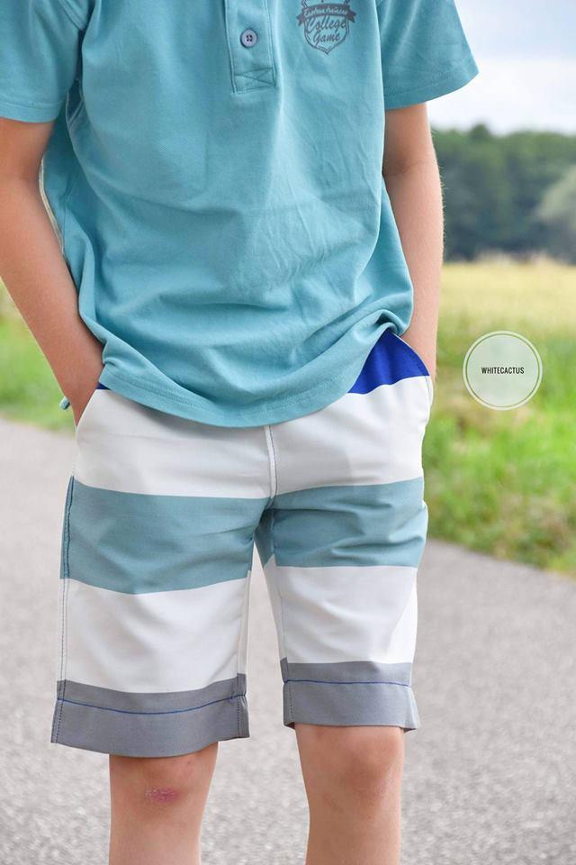 Shorts kurze Hose - Suri - Kinder - Nähanleitung - Schnittmuster