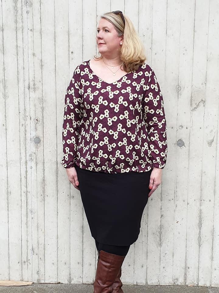 Ava Kleid/Bluse - Damen