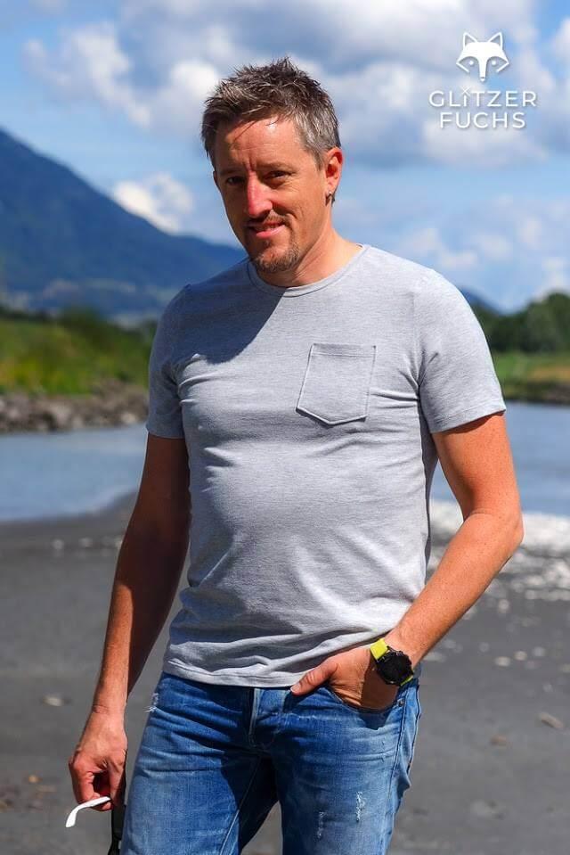 Shirt Longsleeve Herren Theo - Nähanleitung - Schnittmuster