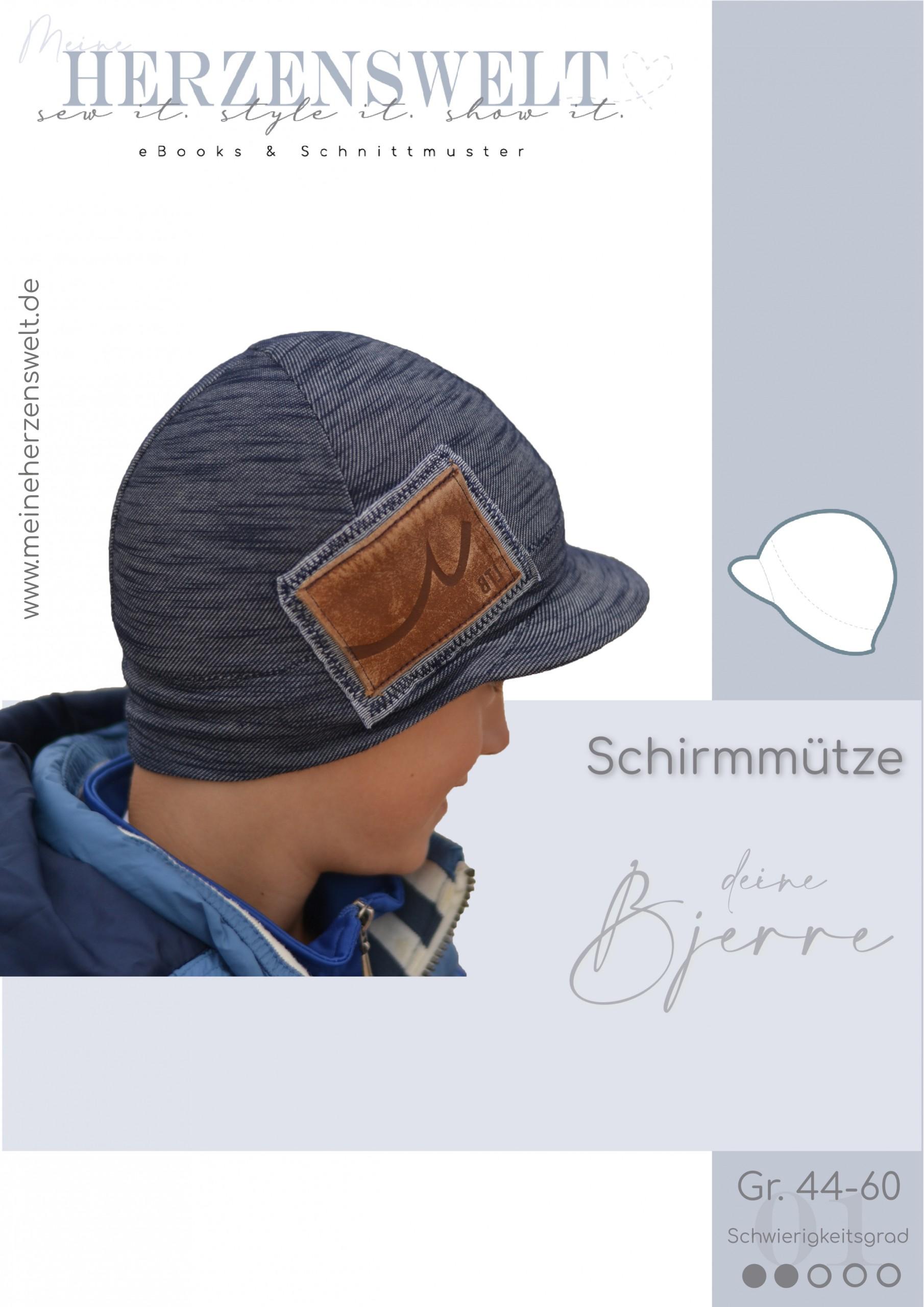 Schirmmütze Mütze - Kinder - Bjerre - Nähnleitung