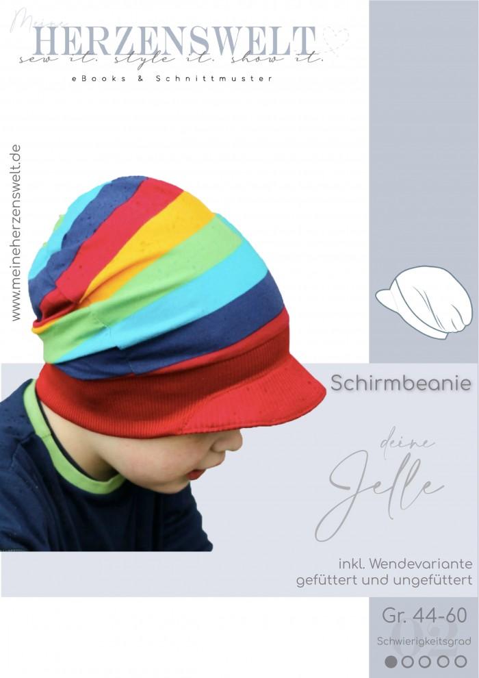 Schirmmütze Mütze - Kinder - Jelle - Nähnleitung