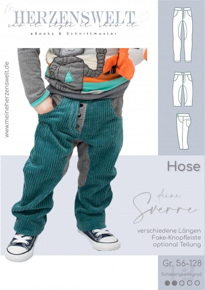 Hose - Sverre - Kinder - Schnittmuster