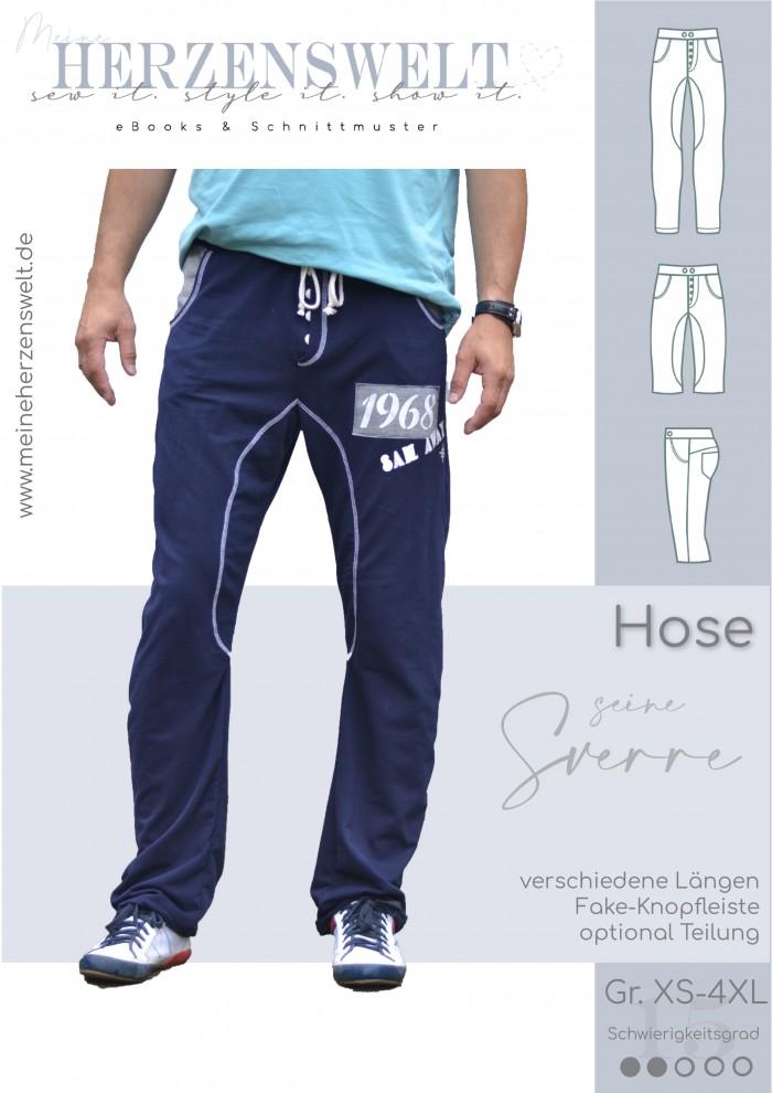 Hose - Sverre - Herren - Schnittmuster