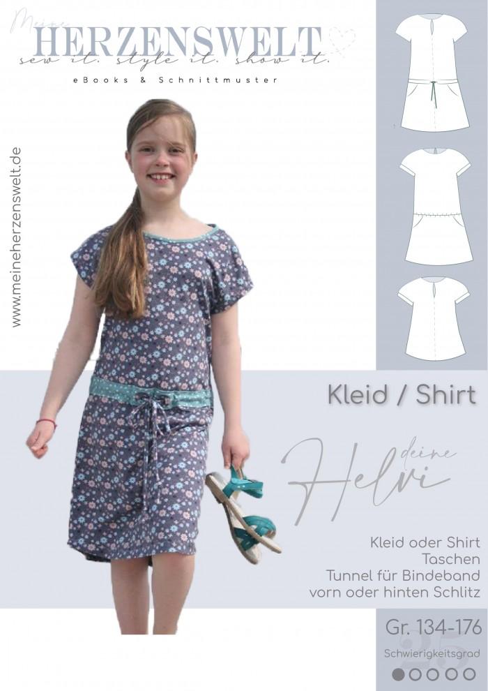 Kleid - Helvi - Kinder - Nähanleitung