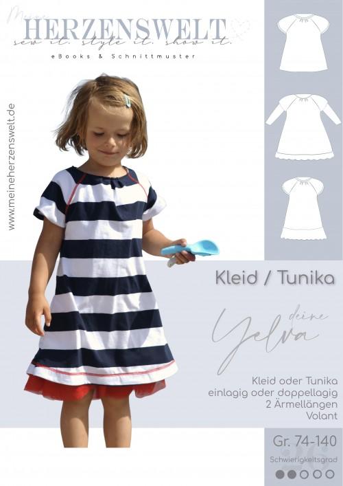 Kleid - Yelva - Kinder - Nähanleitung