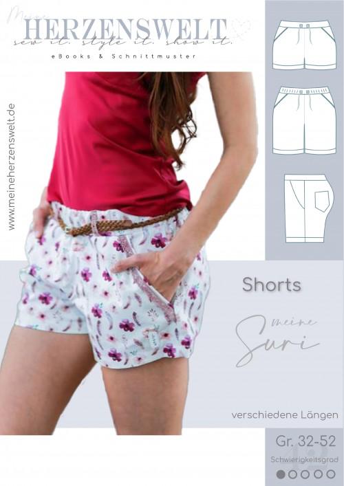 Shorts Hose - Suri - Damen - Schnittmuster