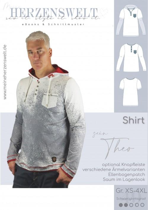 Shirt - Herren - Longlseeve - Theo - Schnittmuster
