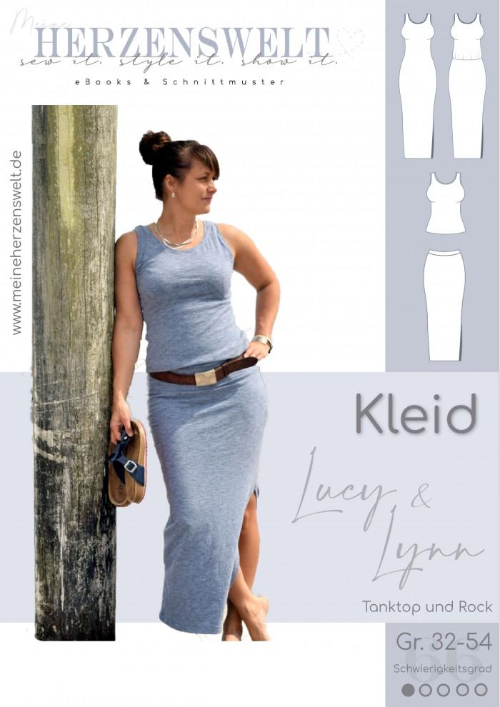 Kleid Lucy/Lynn - Schnittmuster - Damen