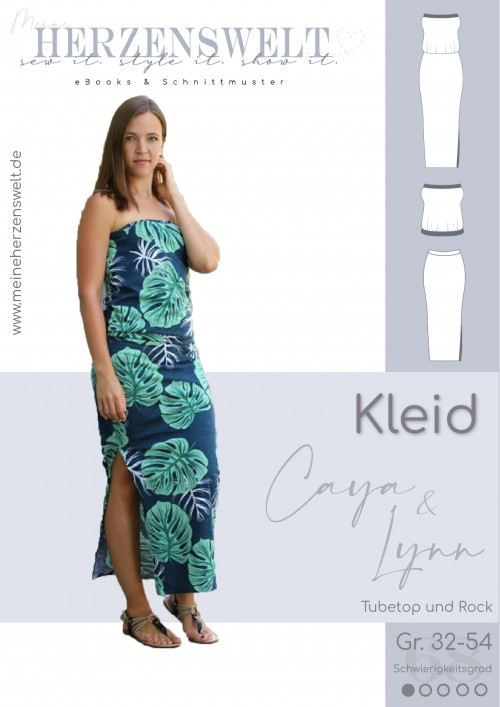 Kleid Caya/Lynn Damen Nähanleitung