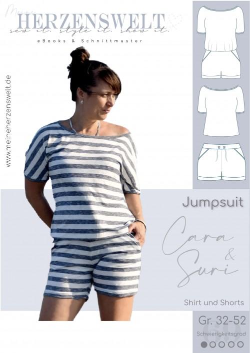 Jumpsuit Cara/Suri - Damen - Nähanleitung