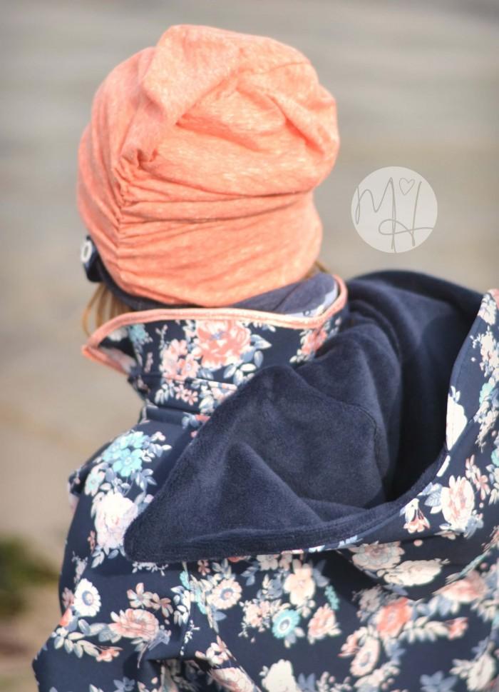 Tutorial - abknöpfbare Kapuze - Softshelljacken