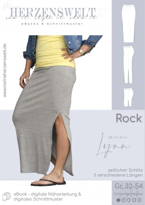 Rock Lynn - Damen - Nähanleitung