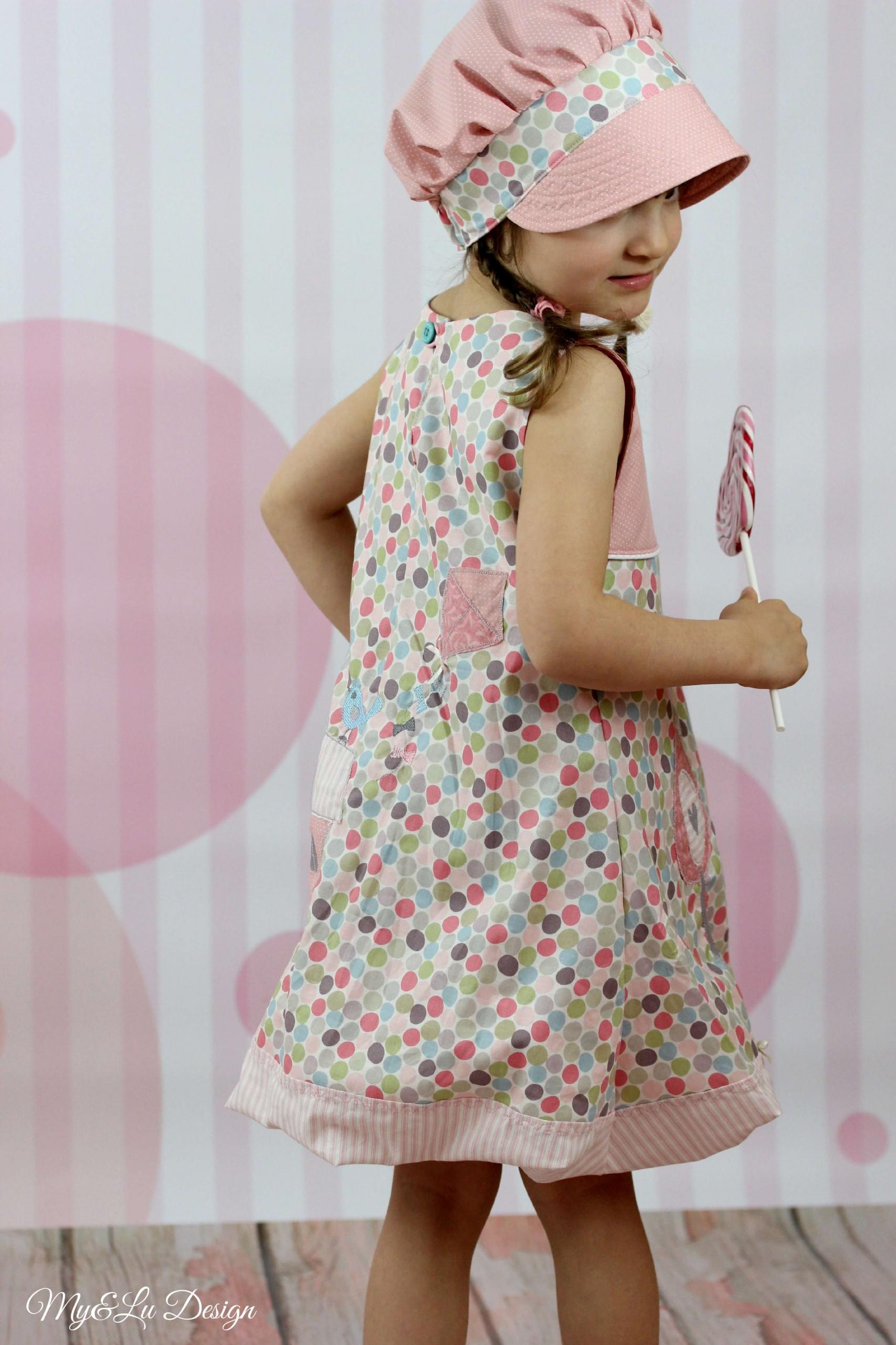 Neela Ballonkleid Mädchen - Nähanleitung - Schnittmuster