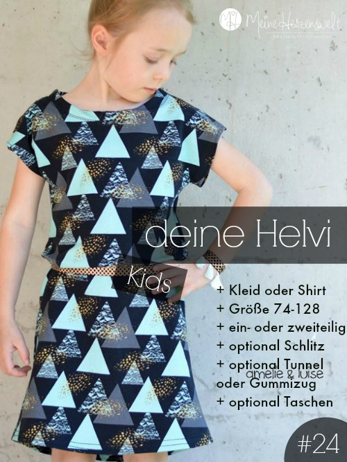 Kleid/Shirt Helvi