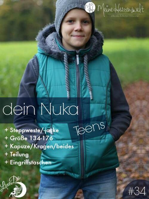 Steppweste/-jacke Nuka