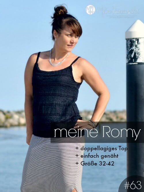 Romy Top Damen Nähanleitung