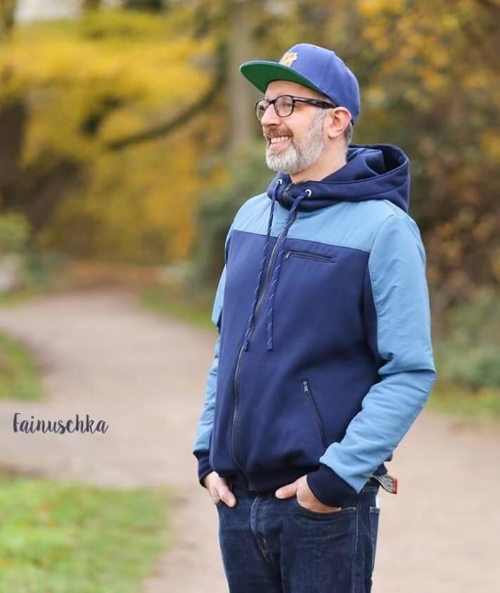 Paco Sweatjacke Hoodie Herren - Nähanleitung