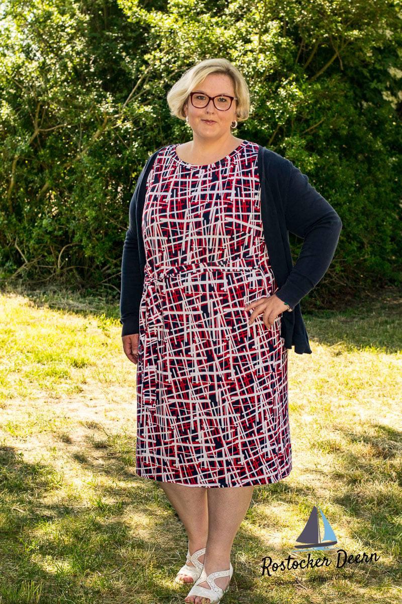 meine Siena - Jerseykleid - Schnittmuster - Nähanleitung - meine Herzenswelt