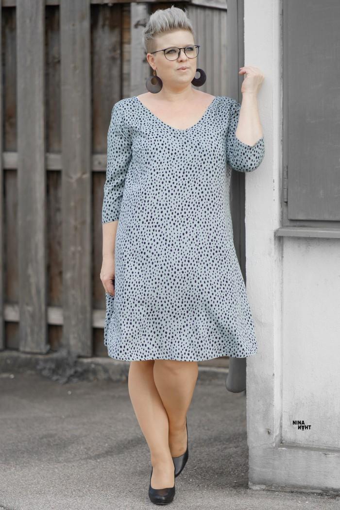 Ava - Kleid - Bluse - Nähanleitung - Schnittmuster